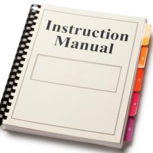 Service / Install manuals